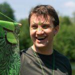 Waldgrüne Kriegsbemalung bei den Colorgames bei SOMMERJUNG, dem Ferienlager für Erwachsene