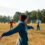Morgensport bei SOMMERJUNG, dem Ferienlager für Erwachsene