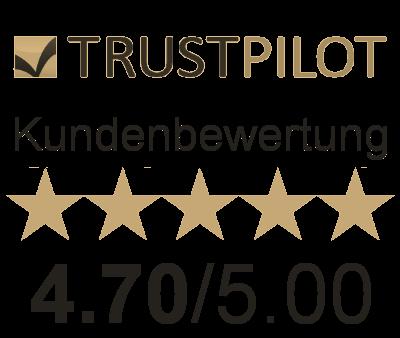 Trustpilot Kundenbewertung